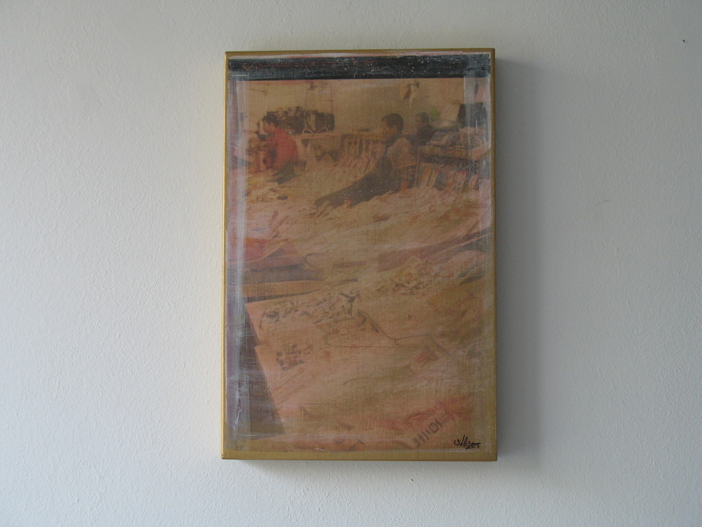 Geschäft mit dem Meer, 2007 1/7 30x20cm 300.-