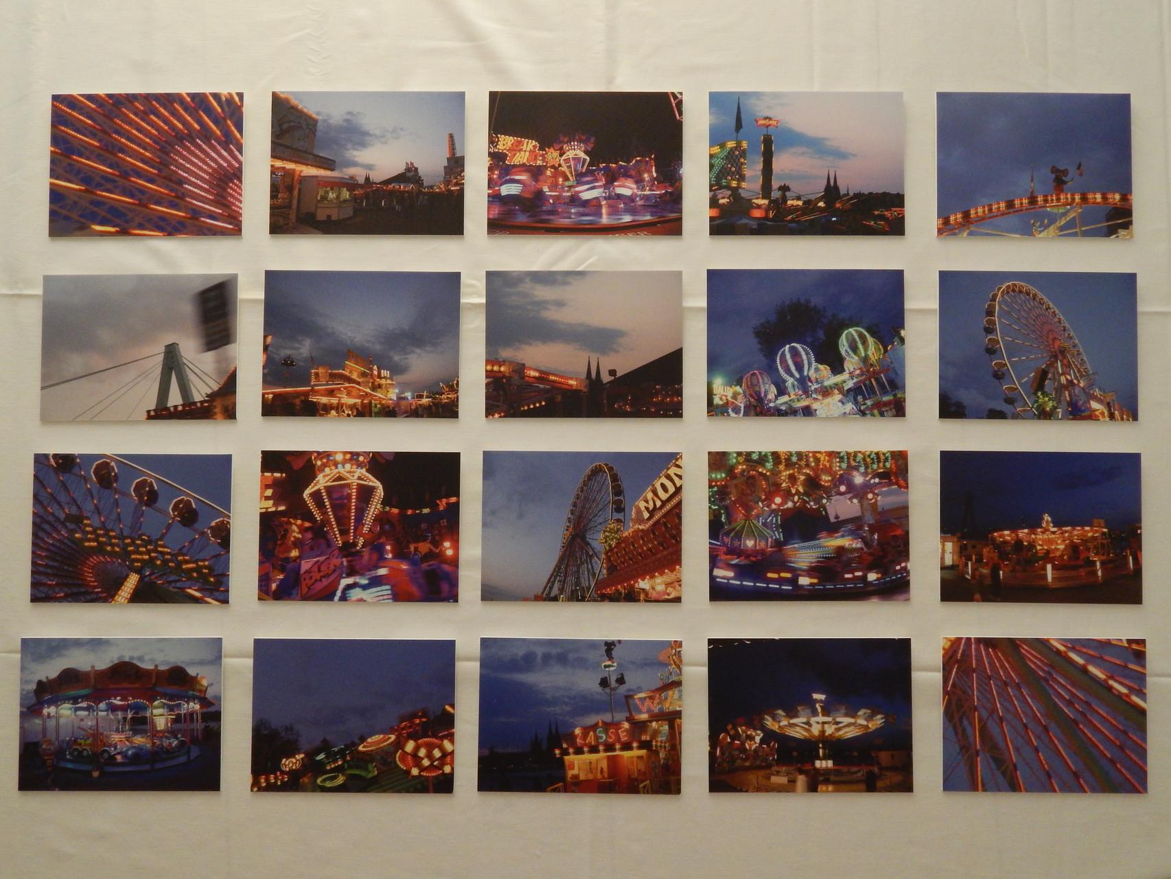Deutzer Kirmes Zweite Runde Print auf Forex 2015 20 Teile 15x20cm