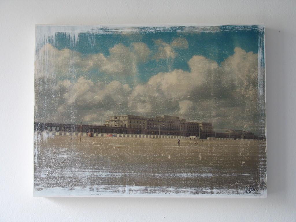 Ostende II, 1/7 2002 30x40cm 400.-