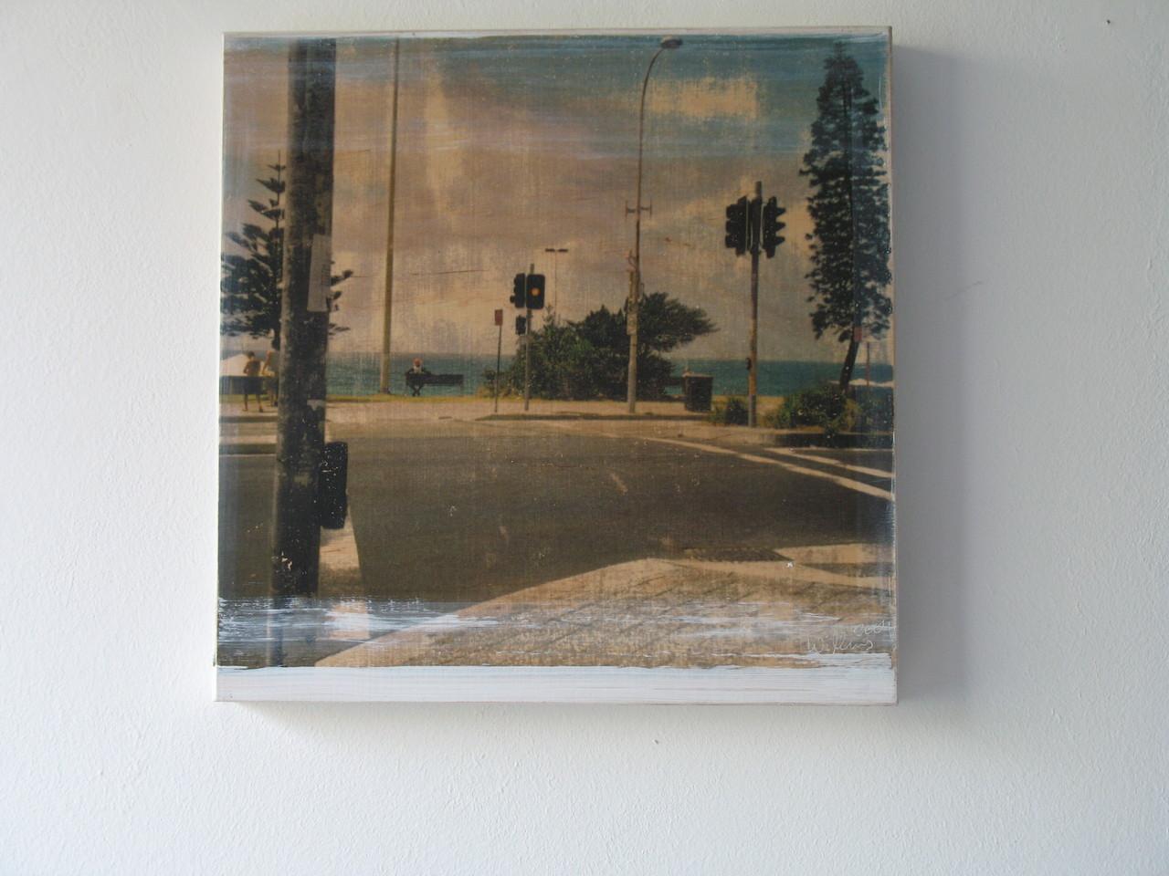 Ampel vor Bondi Beach, 1/7 2004 30x30 cm verkauft