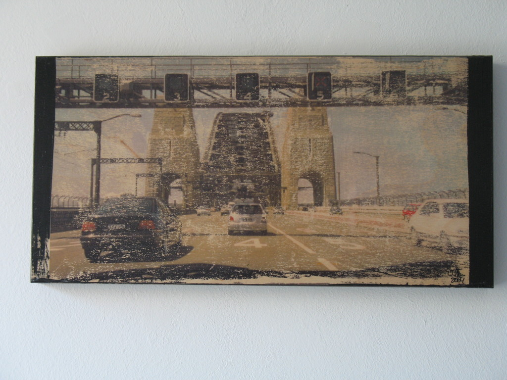 Sydney Harbour Bridge 1/7 2004 20x40cm 400.-