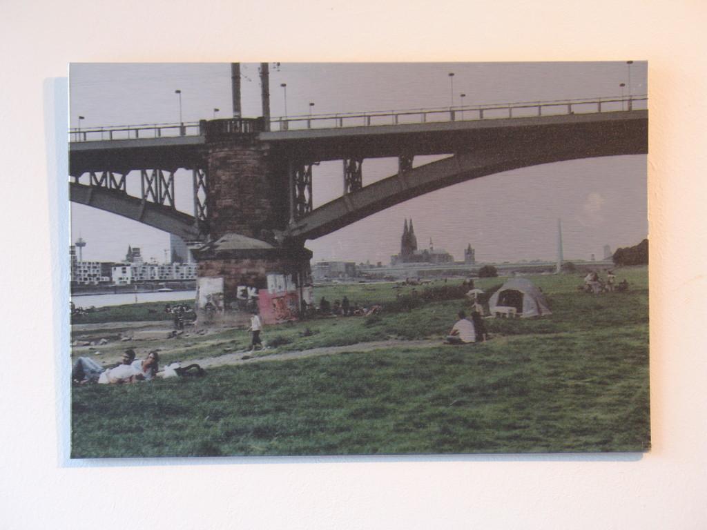 Mit kölschem Woodstock 1/7 2010 ca. 31x21cm 100.-