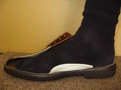 靴が正しく履けている