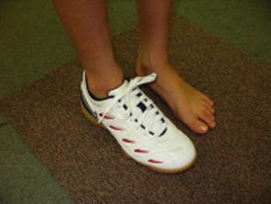靴を正しく履く