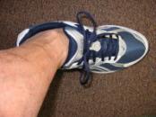 正しく靴が履けています