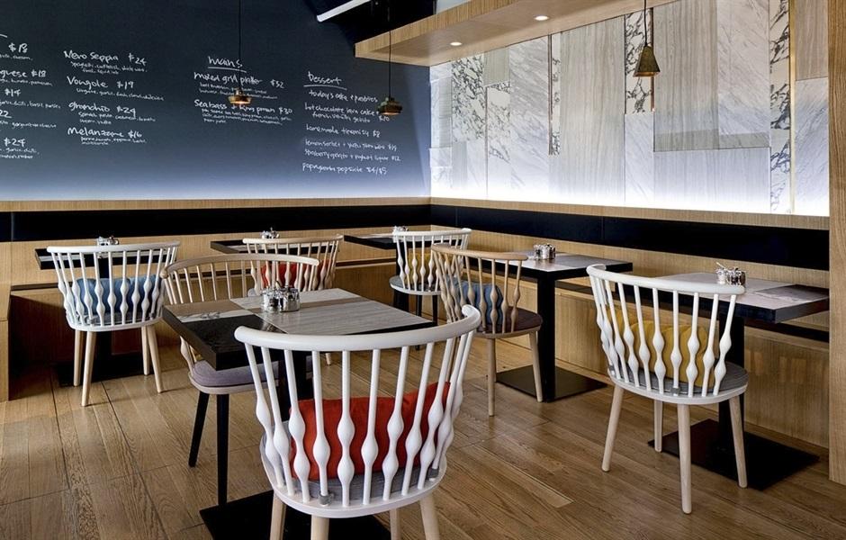 Mobiliar für Cafeterias