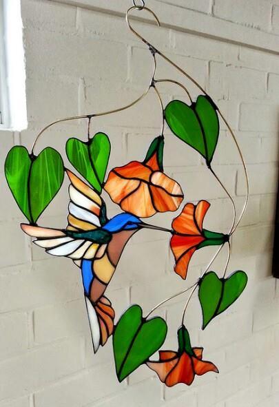 Kolibrie raamhanger