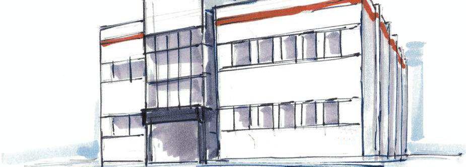 Geschäftsgebäude von Pointsmen