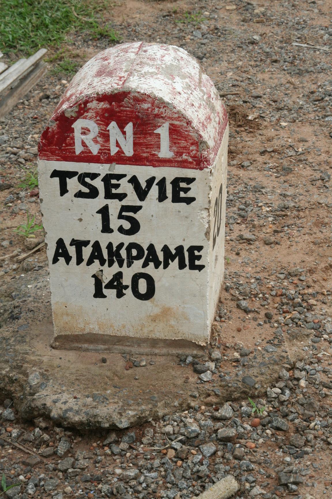 20. Nur noch 15 km bis Tsevie.