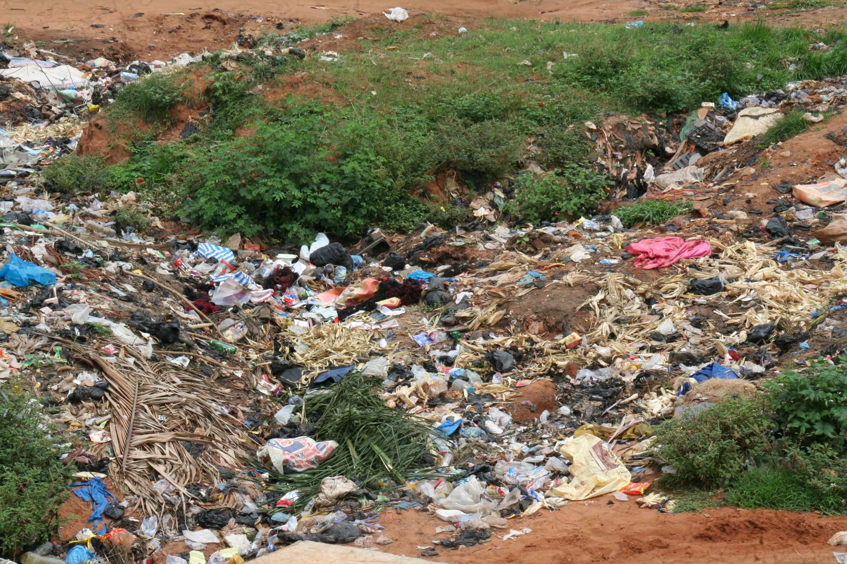 11. Neben der Offiziellen Deponie, gibt es aber auch unzählige wilde Deponien.