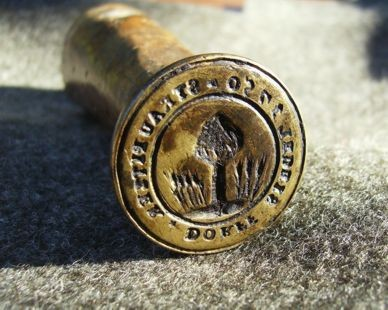 Das erste Siegel von 1750.