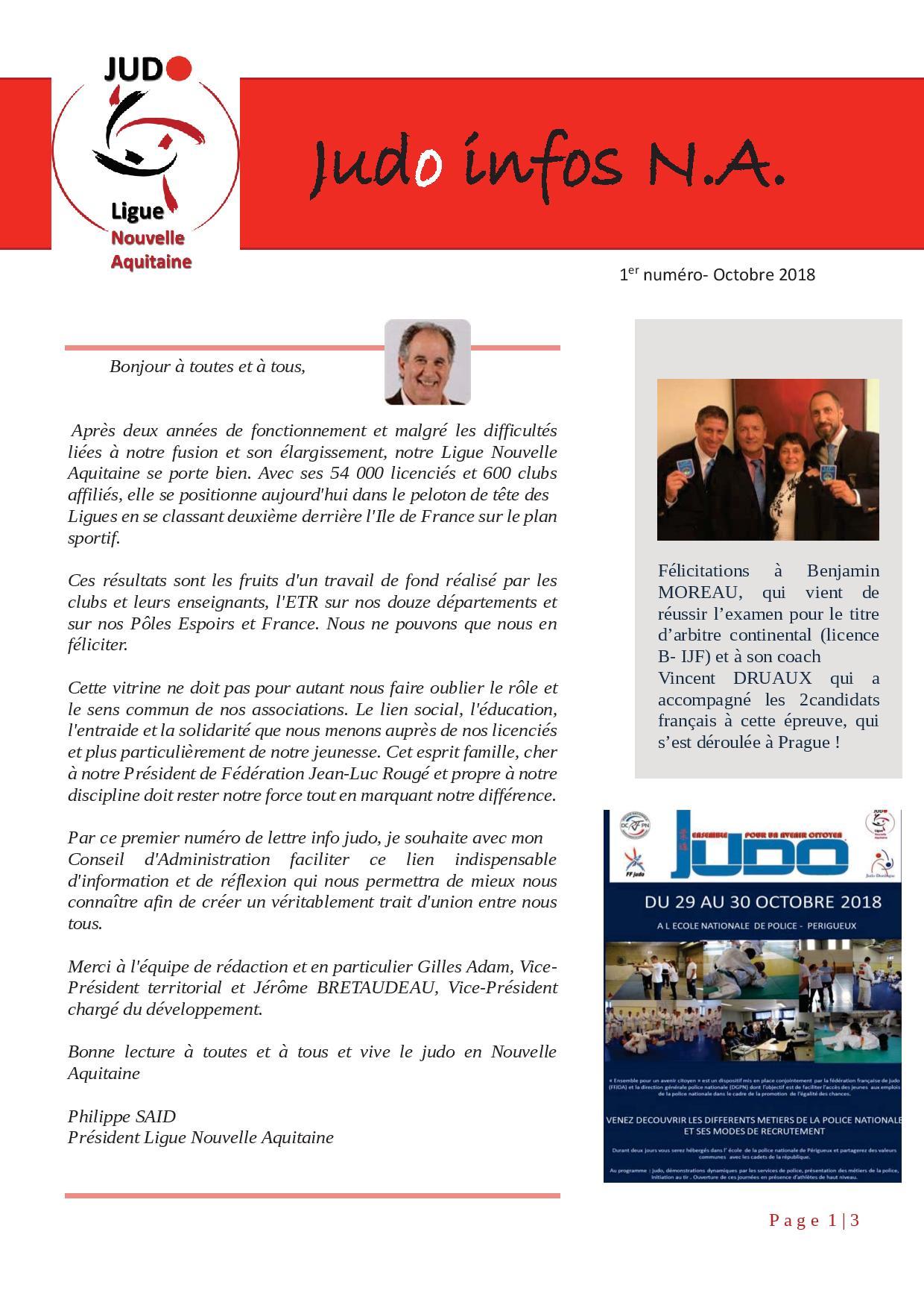 Judo Aquitaine infos   Site de judoclubdesaintvaury !