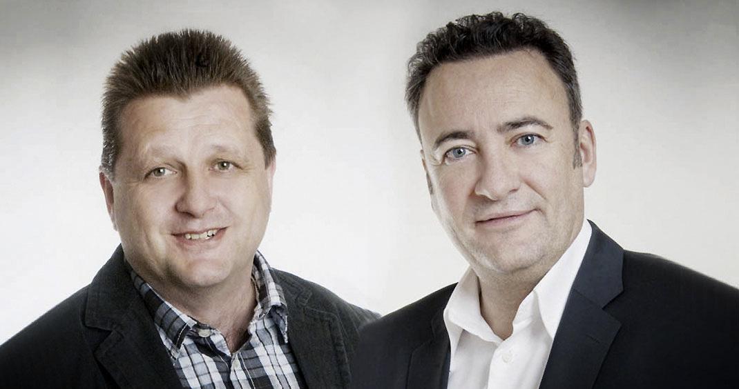 Frank Köppe & Johannes Rieder (v.l.n.r.)