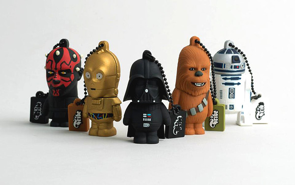 Digital Lifestyle | Darth Vader und seine Kumpels als coole USB Sticks von Tribe | Hot Port Life & Style | 30+ Style Blog