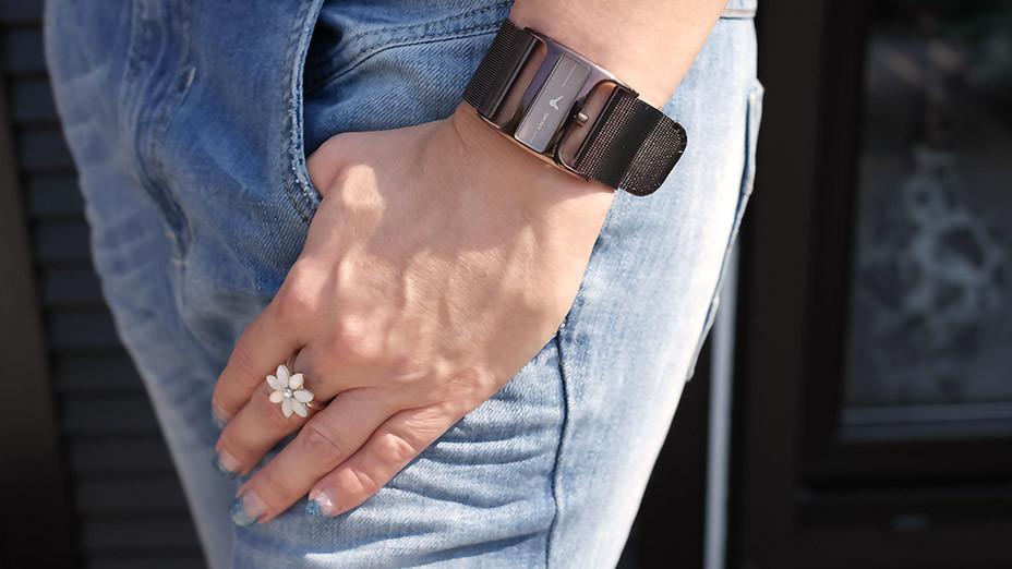 Outfit des Tages: Lässiger Boyfriend Look mit meiner geliebten Diesel Fayza | Clutch von 3Suisse | Shirt Miss Sixty | Armband Mango