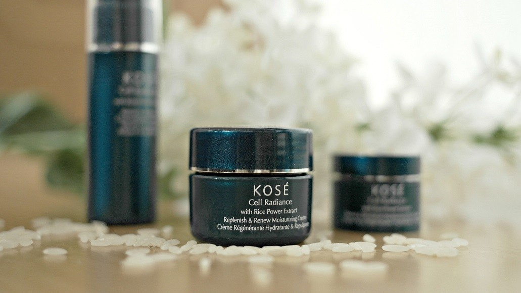 Kosé Cell Radiance Moisturizing Program with rice extract