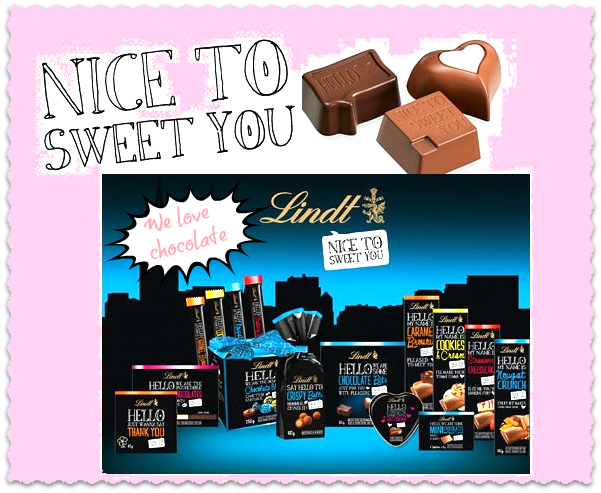 nice to sweet you von lindt