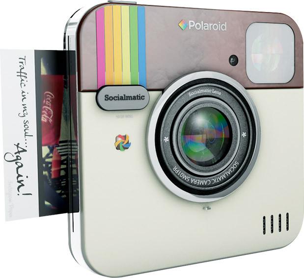 Lifestyle Trend Sofortbildcamera | Mit der Polaroid Socialmatic kommt Retro Charme zu Dir nach Hause