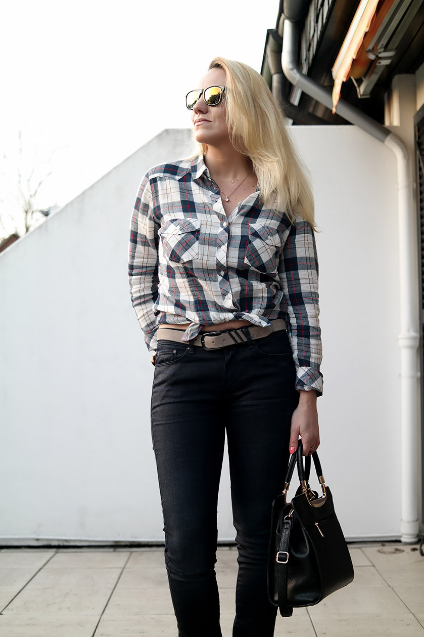 Outfit G-Star Raw Contour X Chester Shirt | High Waisted Denim Trends | Hot-Port.de | 30+ Fashion Blog