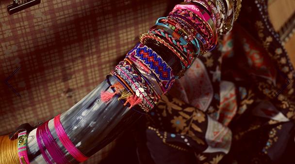 Hipanema Style Trend Bracelets Ethno Look