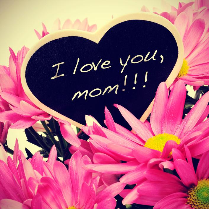 Liebesgrüße zum Muttertag! I love you Mom!!!