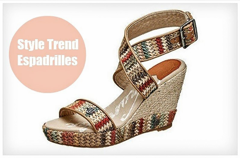 Style Trend Espadrilles