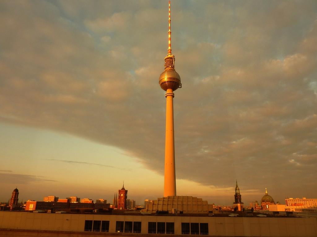 Der Berliner Fernsehturm - Wahrzeichen der Stadt!