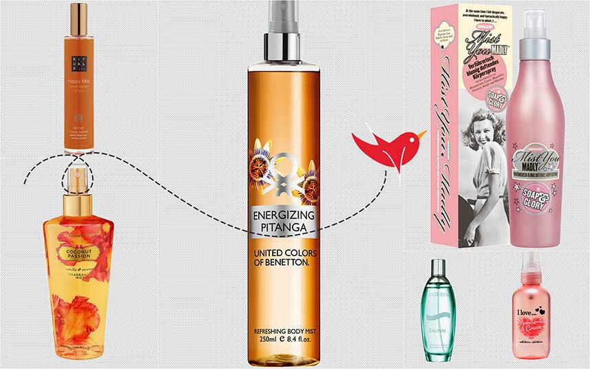 Sommer Trend Body Spray | Erfrischende Alternative bei heißen Temperaturen