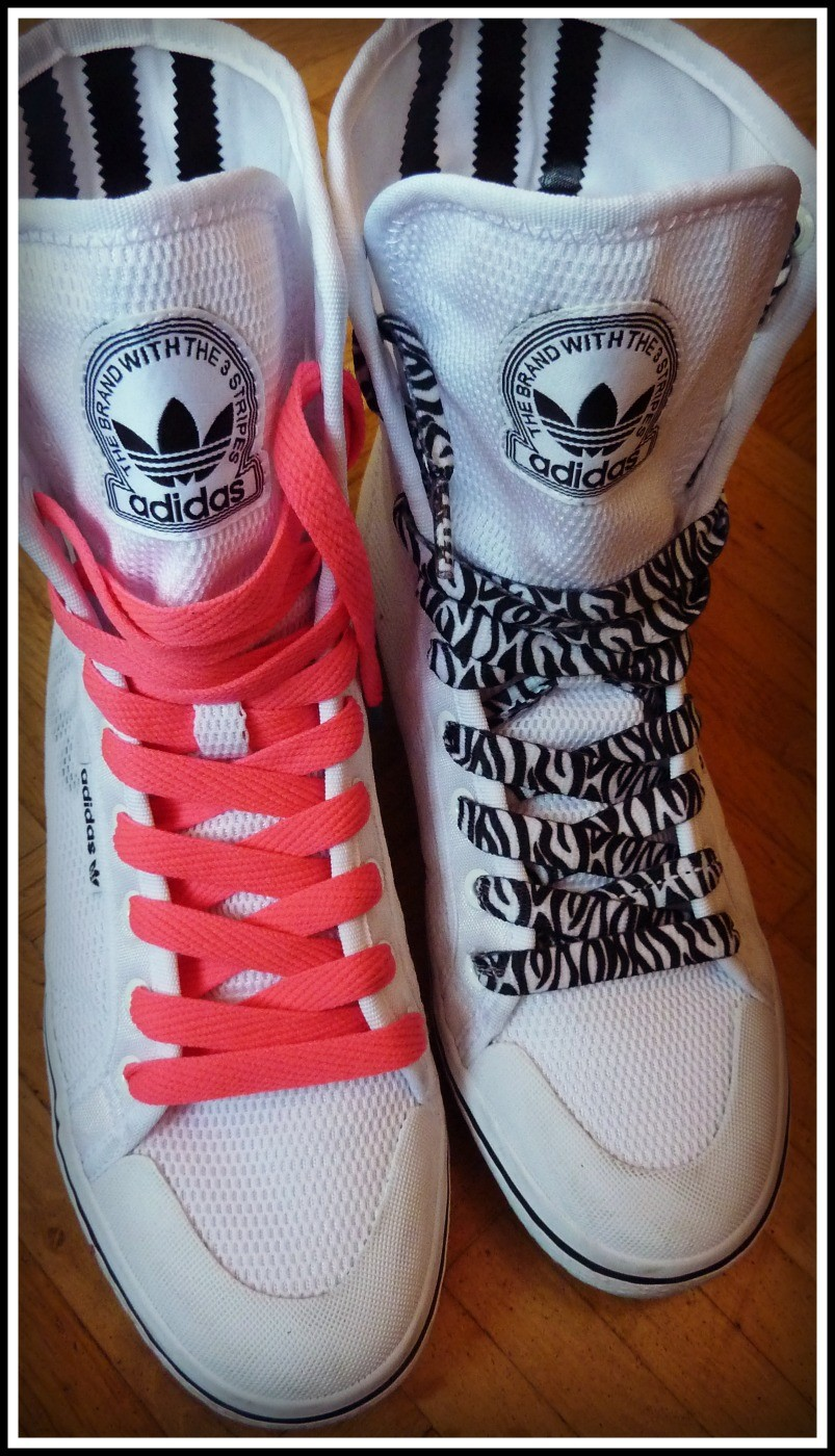 Adidas Honey W Mid - Mein verrückter Schnürsenkel Versuch