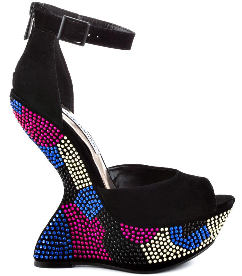 Steve Madden Gimmick Multicolor Ultra Heel Super geil Must Have