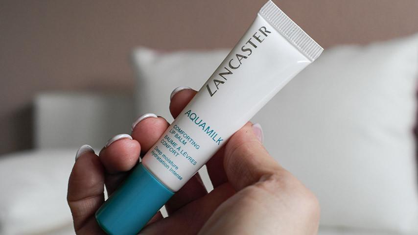 Beauty Essentials | Meine Favoriten im Oktober und auch den Rest des Jahres | Lancaster Aquamilk Lippenpflege