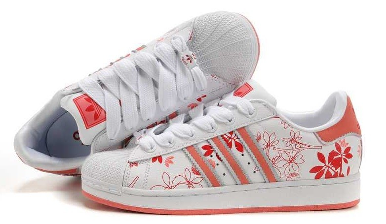Adidas Superstar II Flower Power Trend Sneaker