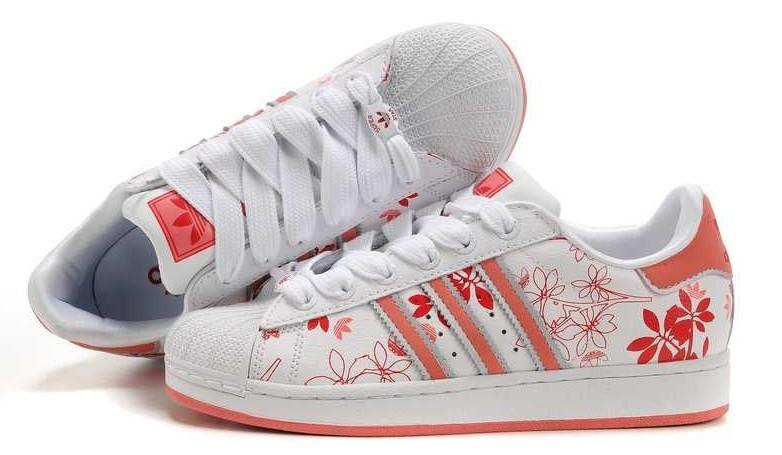 Adidas Superstar II Flower Power Trend Sneaker