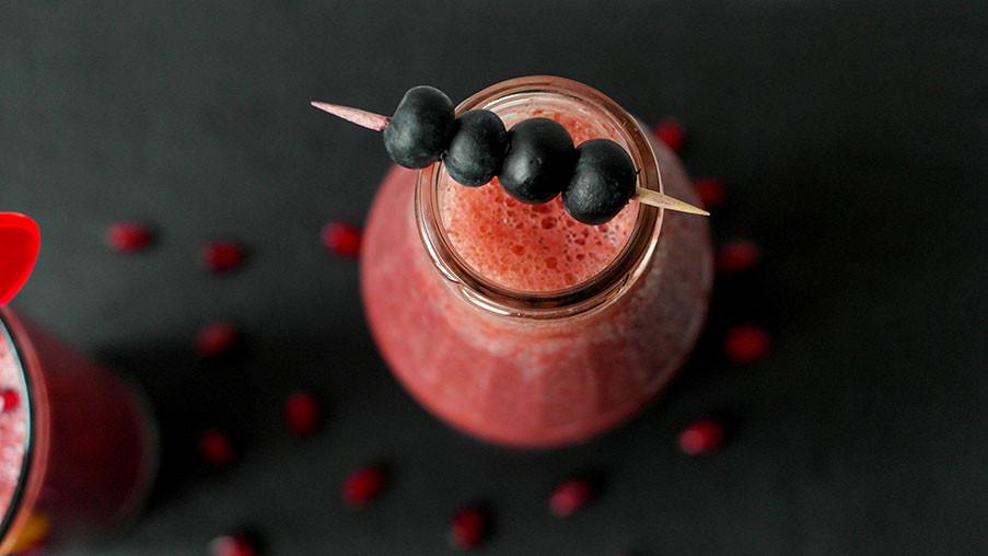 Code Red | Blutorange Granatapfel Smoothies gegen Winterblues | Smoothie sind der hippe Lifestyle Trend
