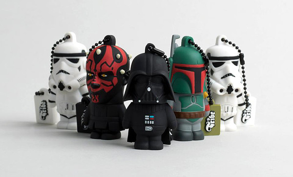 Digital Lifestyle | Darth Vader und seine Kumpels als coole USB Geek Accessoires von Tribe | Hot Port Life & Style | 30+ Style Blog