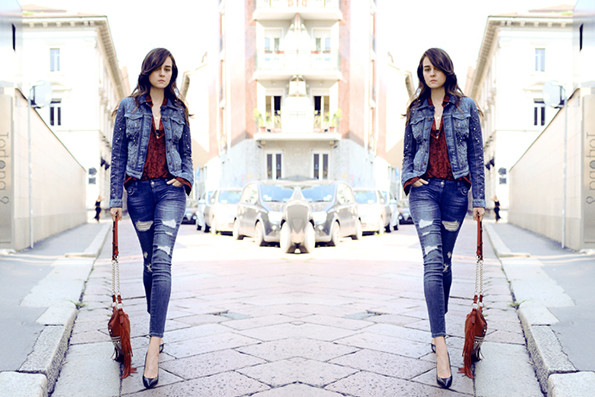 Fashion Forward | Fashionsquad for Guess Denim Diaries Campaign