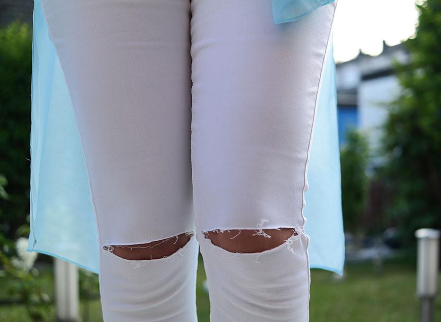 Style Trend White Denim - Warum weiße Jeans jetzt so angesagt sind