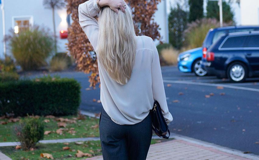 Stressfaktor langes strapaziertes Haar