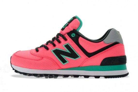 New Balance 574 Windbreaker Pack pink turquoise /> </center> </body> </html>