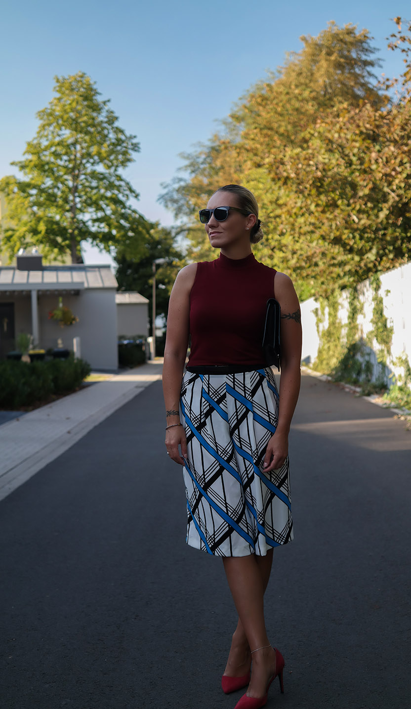 Outfit River Island Summer Culottes X Crop Top from Ax | Braided Clutch from Asos | hot-port.de | 30+ Lifestyle & Trends Blog