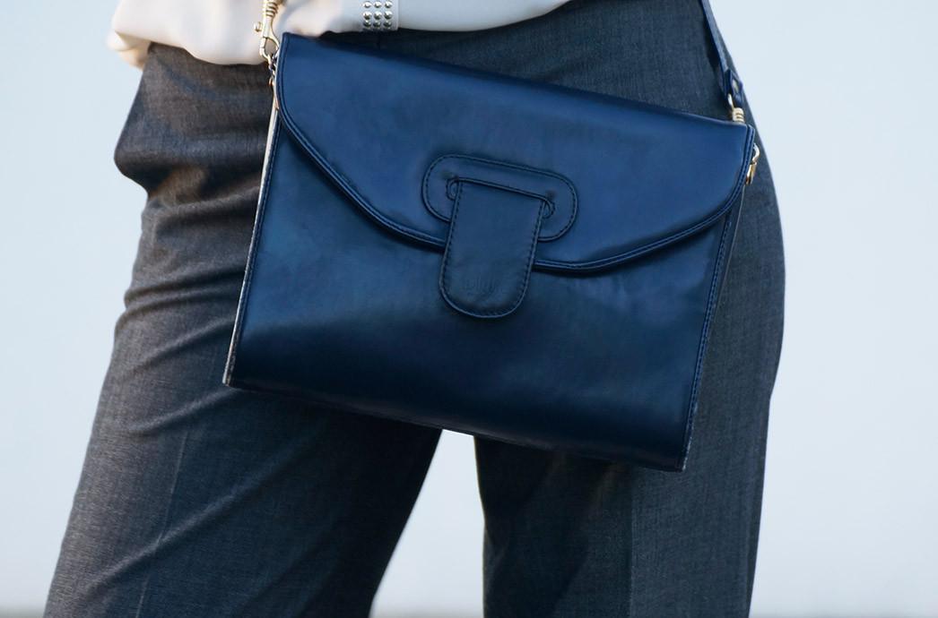 Streetstyle Look | Mein Pre Christmas Business Outfit | Hose von Madeleine | Tasche Messenger Bag im Vintage Style