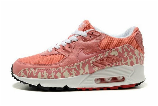 Nike Air Max 90 Pink Texture White Spring Model 2013