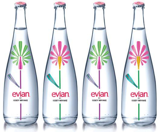 Evian Design Flasche by Issey Miyake