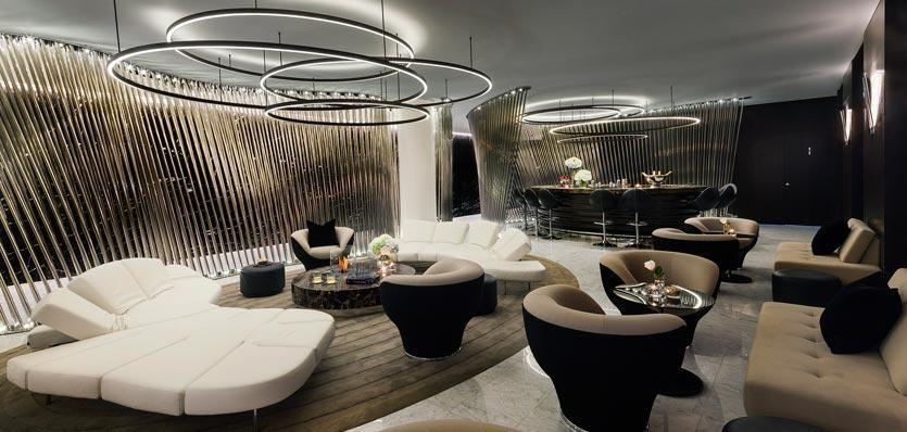 Marconi Lounge des ME London | Einem avantgardistischen Traum