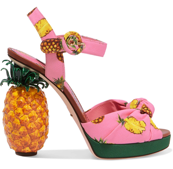Der Dolce & Gabbana Ananas Schuh Trend 2017 | hot-port.de | 30+ Style Blog