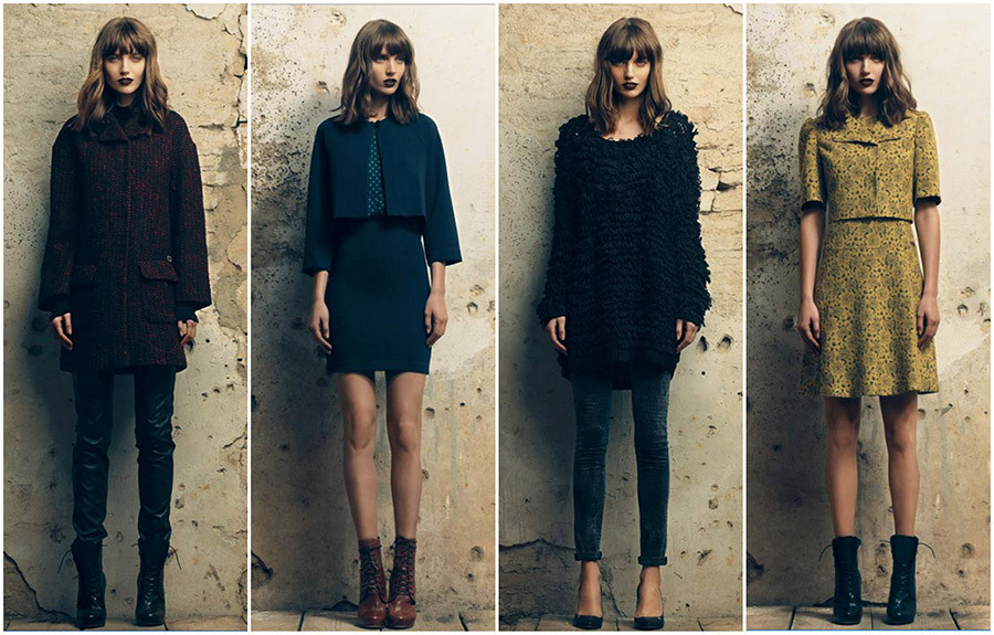 Lifestyle Trend Italian Fashion Labels | Fornarina Fall Winter 2014 / 2015 - Get the Gothic Style
