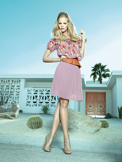 Fornarina trendy Looks Spring Summer 2013