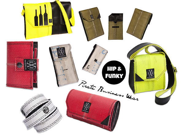 Pirate Business Wear | Accessoires aus wiederverwertbarem Feuerwehrschlauch