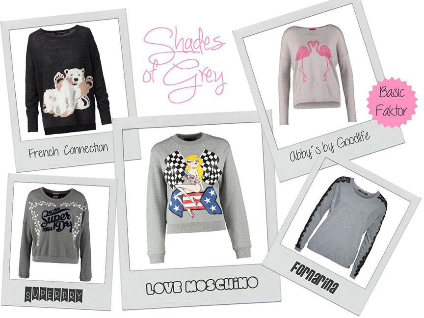 Style Trend Grau | Warum diese Fashion Sweater garantiert nichts für graue Mäuse sind