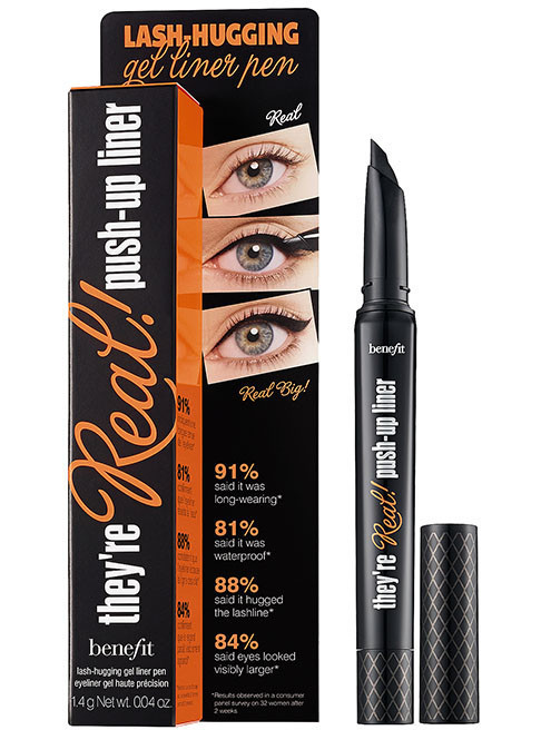 Benefit real push up gel liner | Beauty Must Have